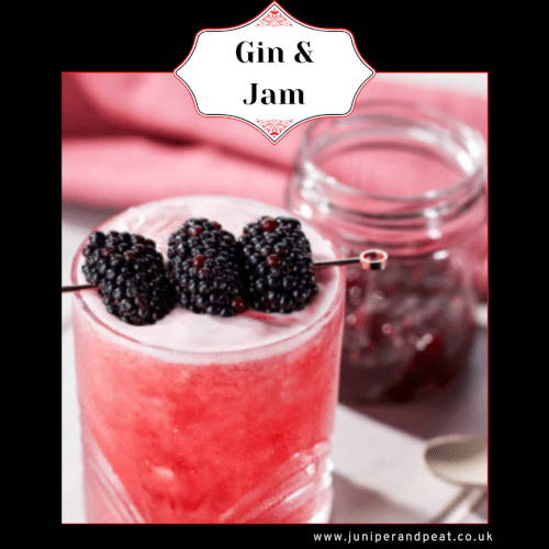 How to make a Gin and jam cocktail