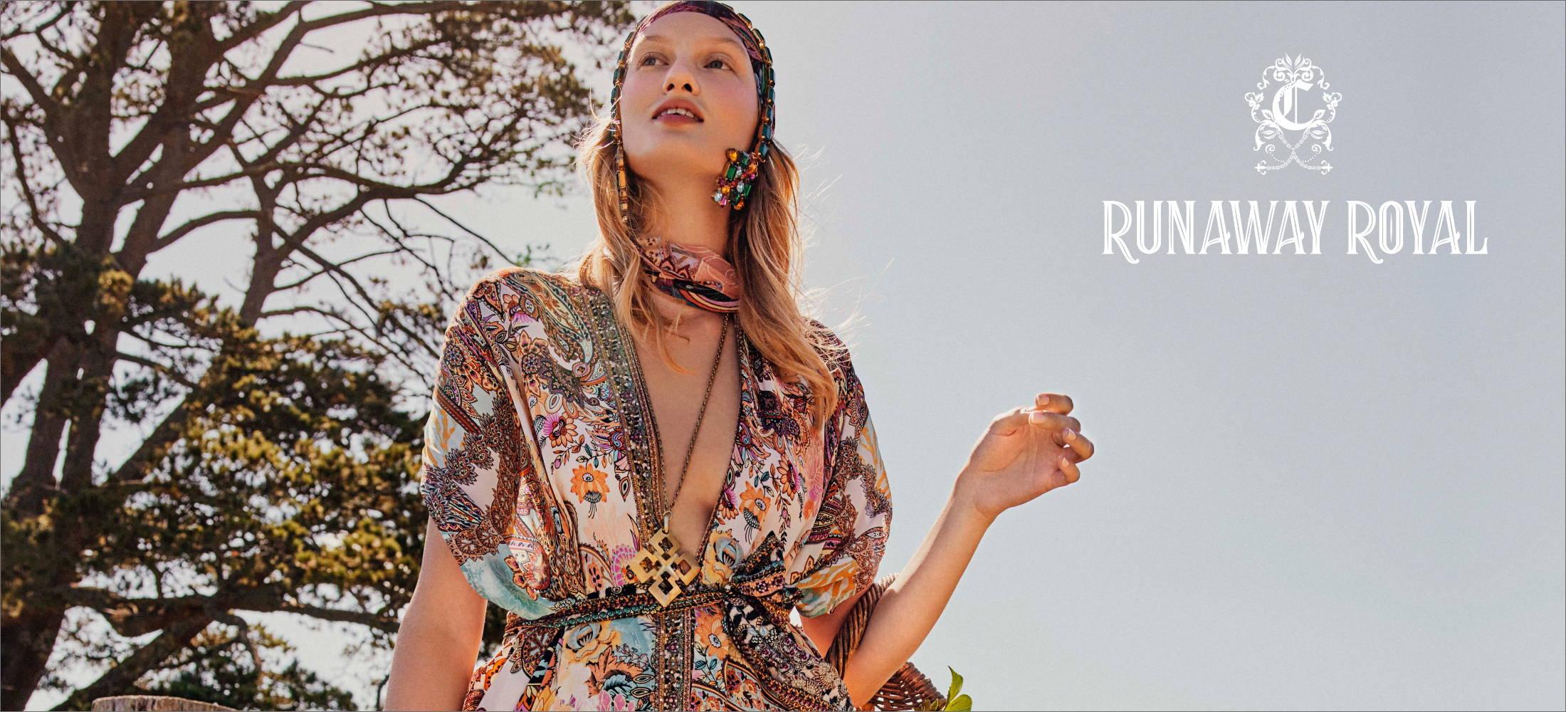 CAMILLA runaway royal, camilla paisley layer, camilla carnaby disco,