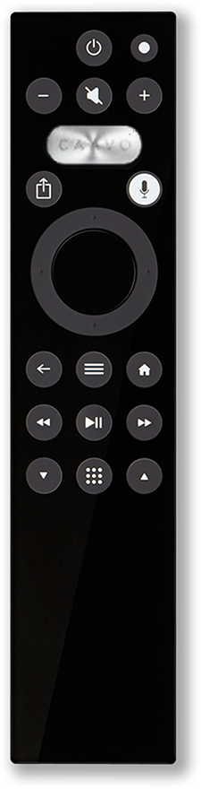 caavo control center universal remote