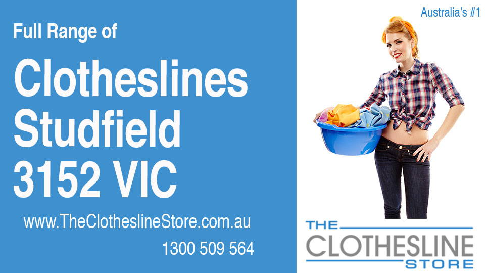 New Clotheslines in Studfield Victoria 3152