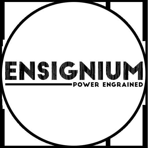 ENSIGNIUM - POWER ENGRAINED LOGO
