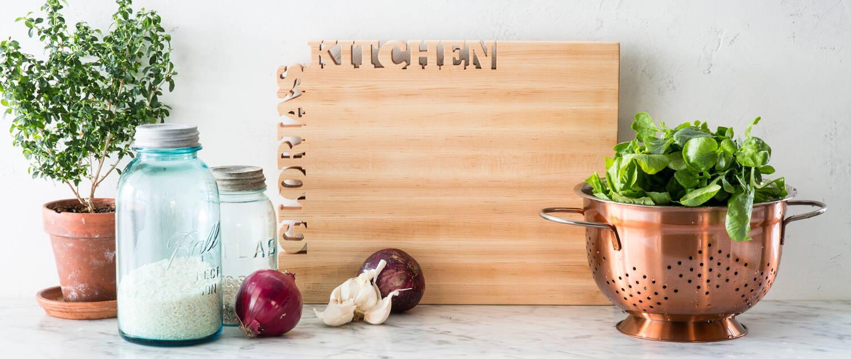 Maple Cutting Board Header