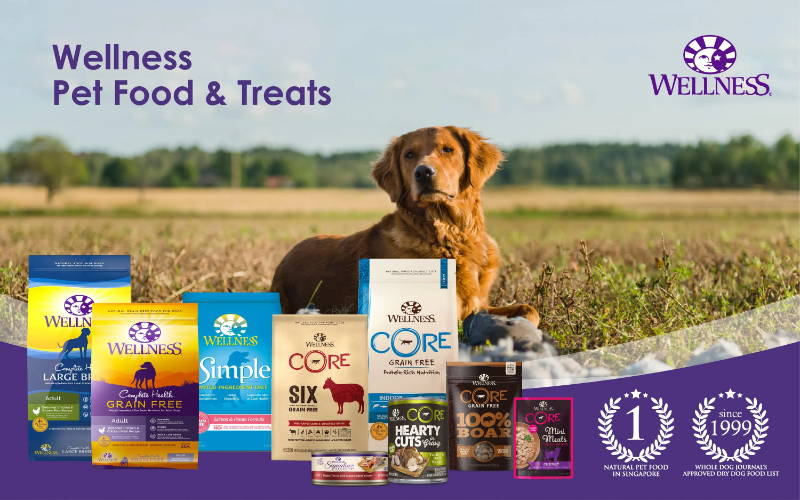 wellness pet food and treats singapore branding banner pawpy kisses pet shop mobile
