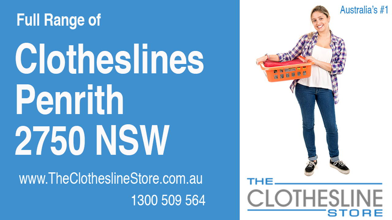 New Clotheslines in Penrith 2750 NSW