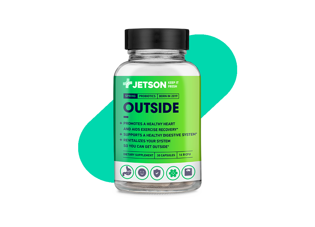 Jetson Outside Spring Probiotics