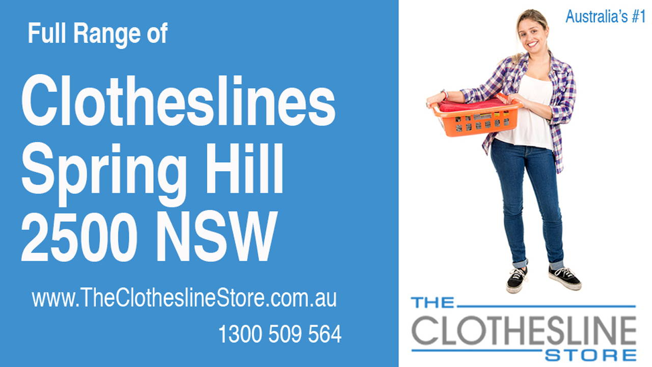 New Clotheslines in Spring Hill 2500 NSW