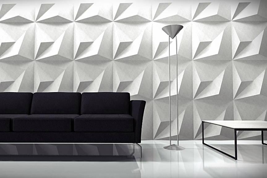 3D concrete tiles