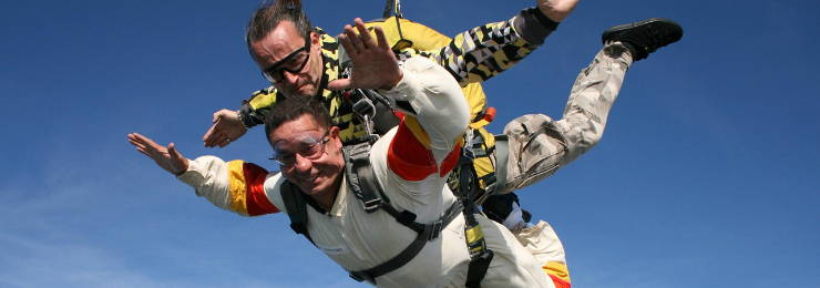 Experience the spine-tingling skydiving adventure in Thailand