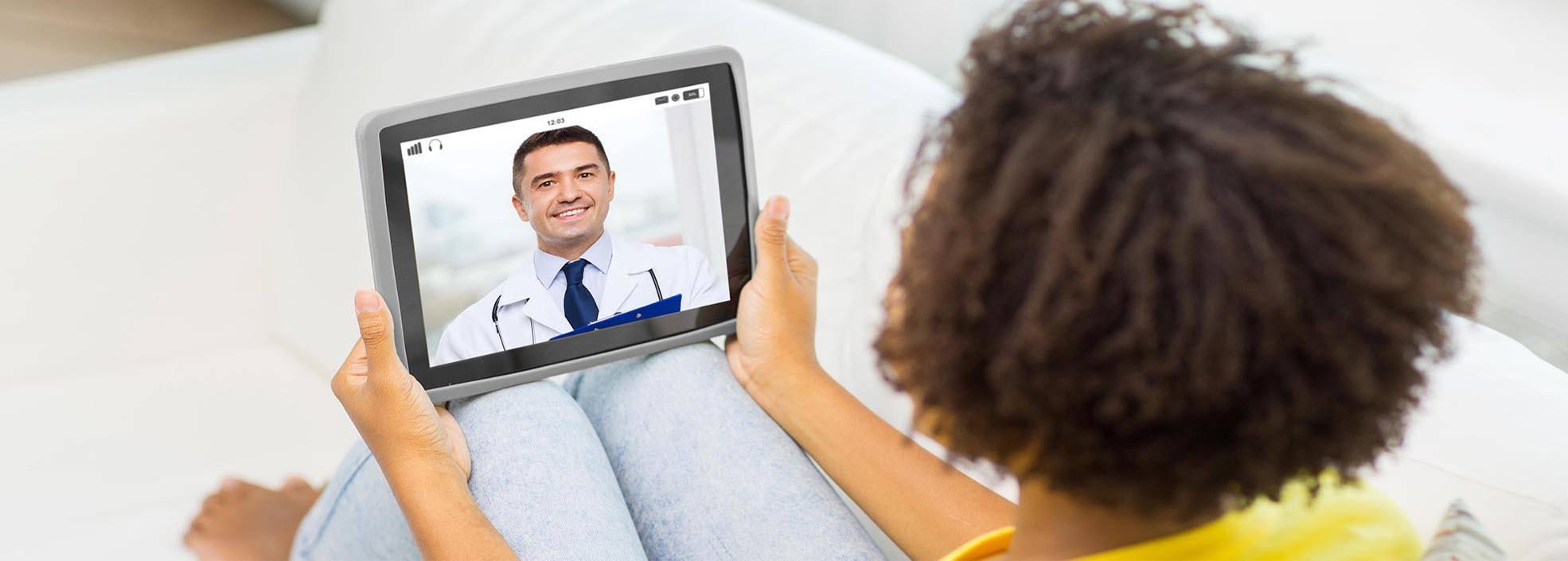 Podiatrist video appointmen