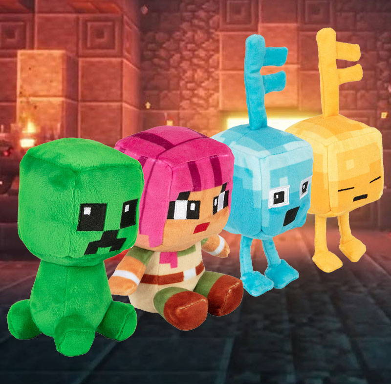 Minecraft Dungeons Mini Crafter Random Plush