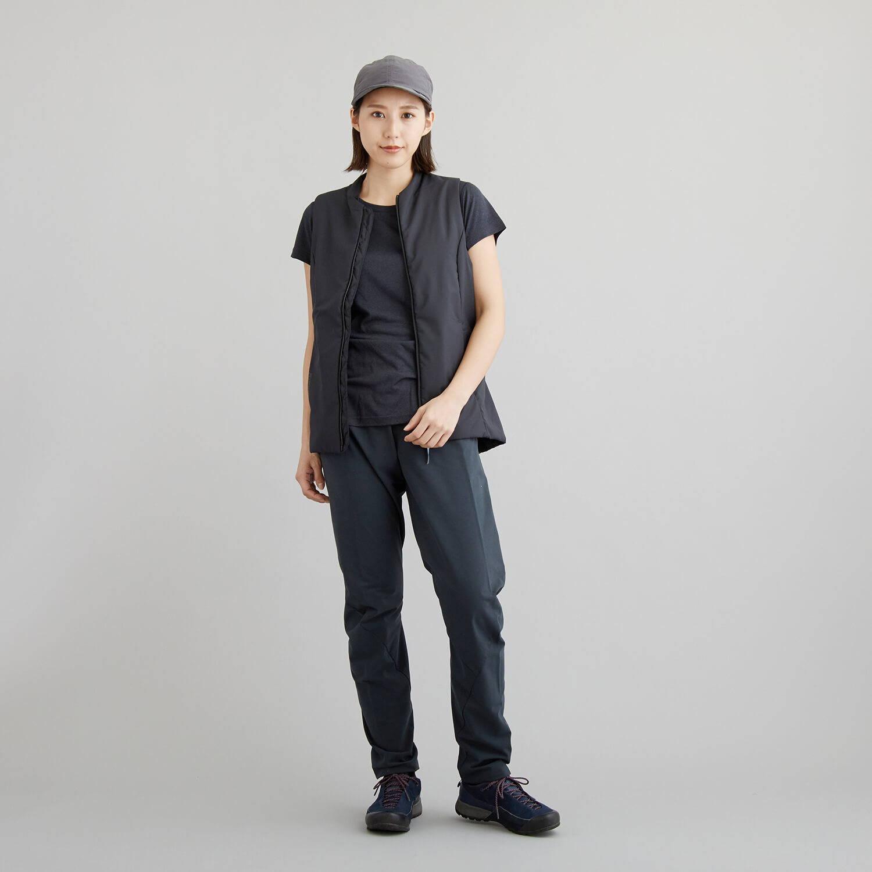 HOUDINI(フーディニ)/ベンチャーベスト/ブラック/WOMENS