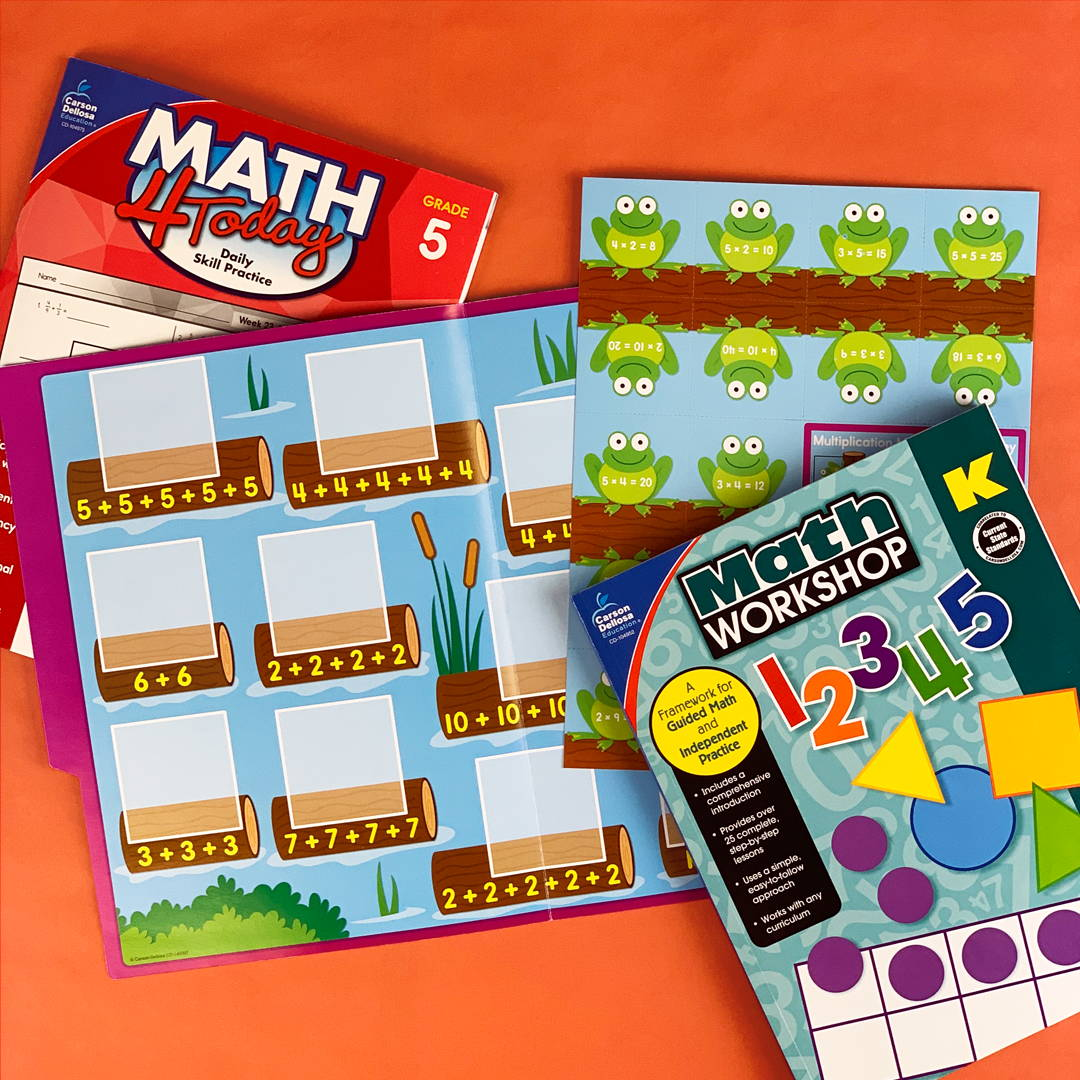 Math Book and File Folder Game