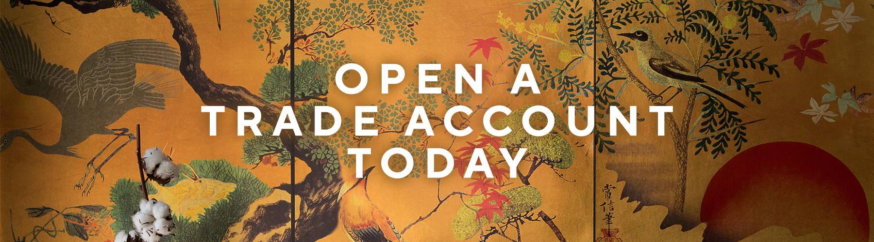 Open a trade account today