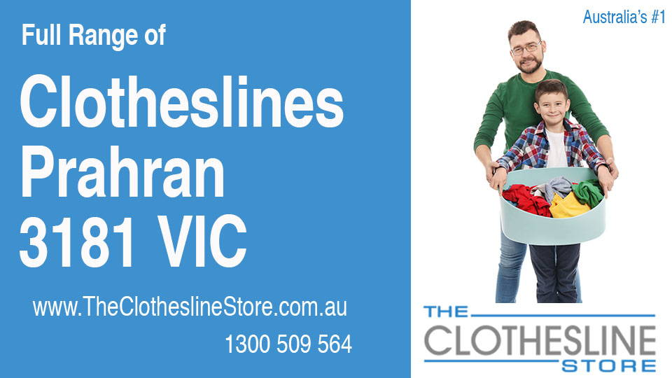 New Clotheslines in Prahran Victoria 3181