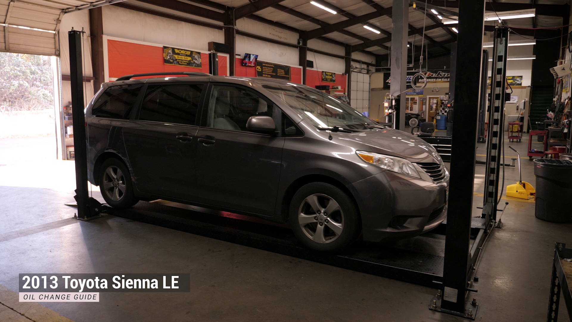 toyota sienna oil change guide motivx tools
