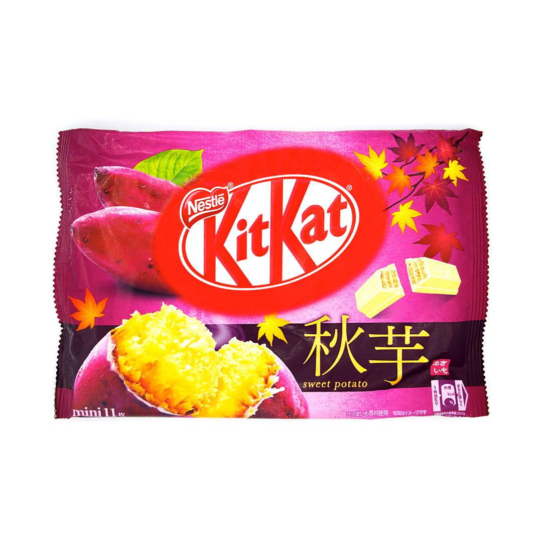 Fall Sweet Potato Japanese Kit Kat