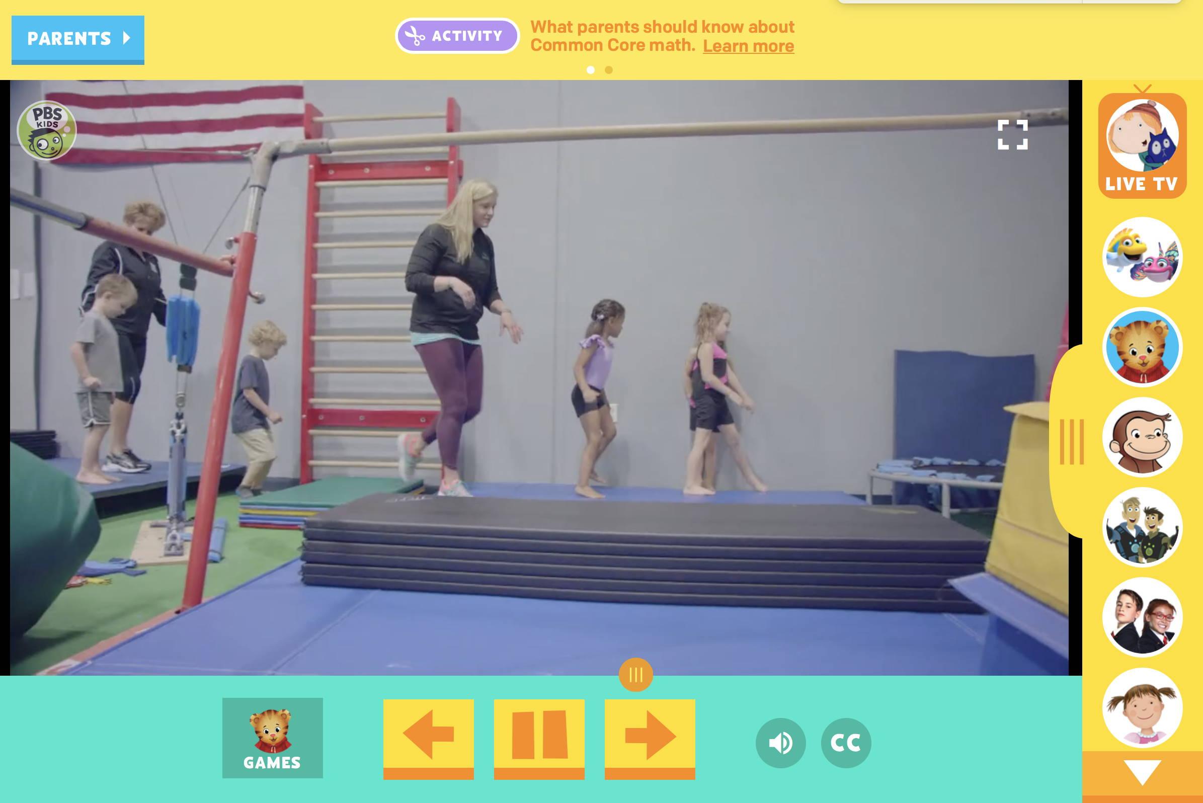 Gymnastic Activities