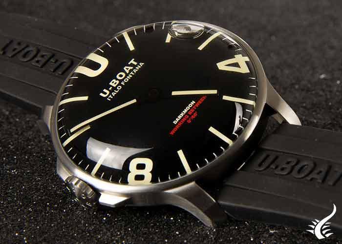 U-Boat-Capsoil-Darkmoon-44-SS,-44-mm,-Silicone,-8463
