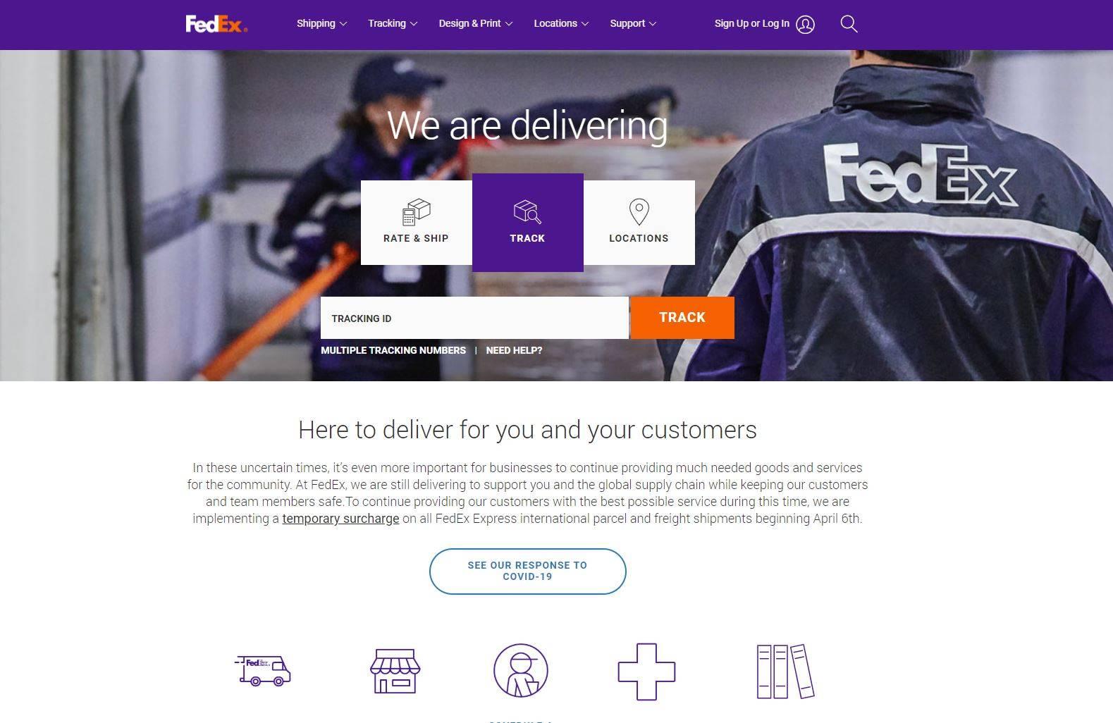 FedEx package lock box