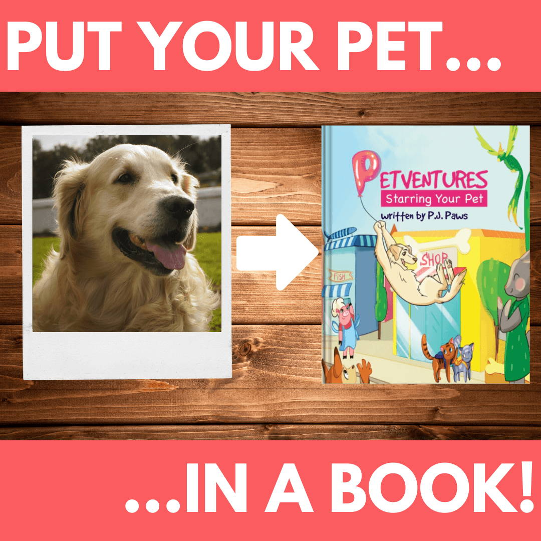 Personalized Pet Book