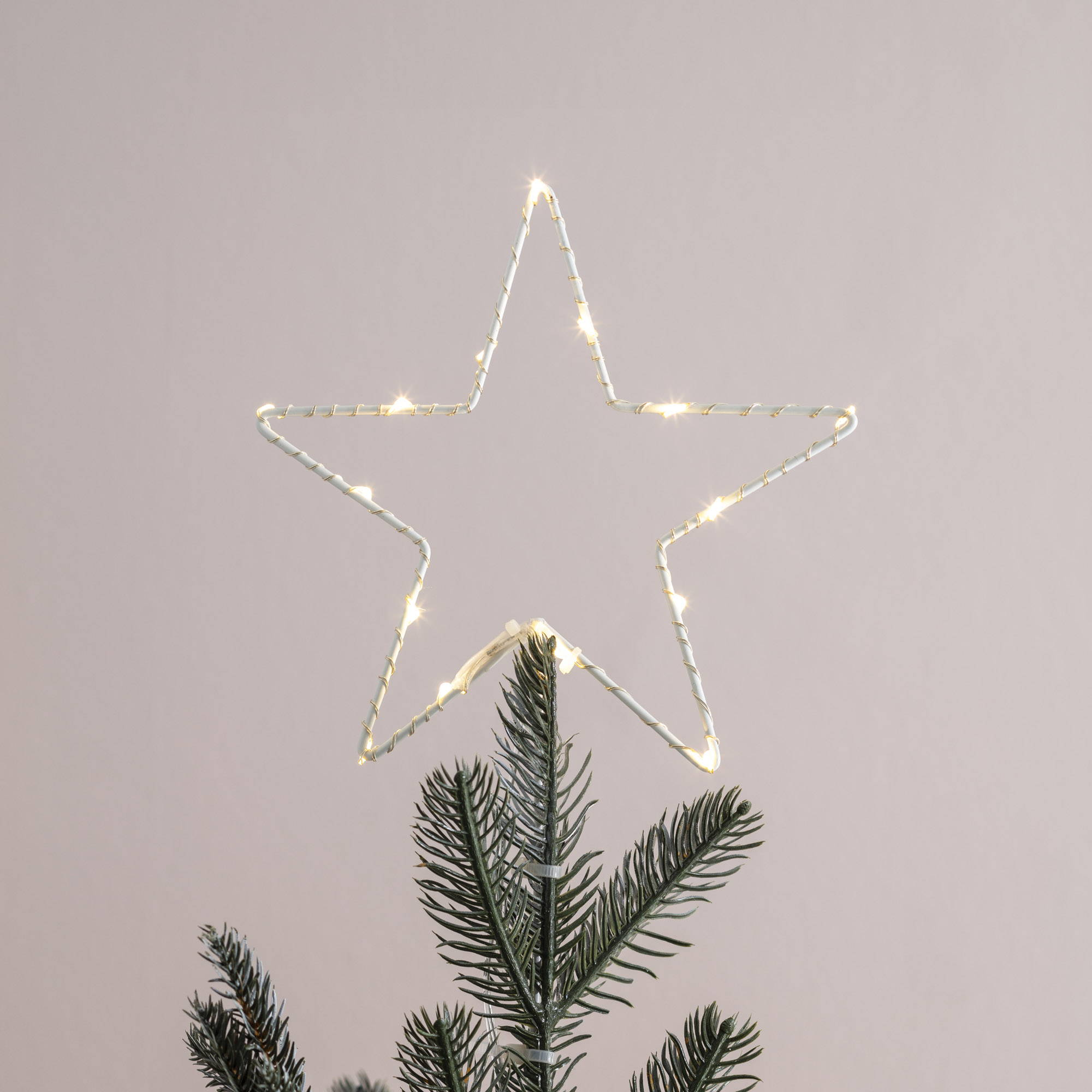 LED Star light Christmas tree topper
