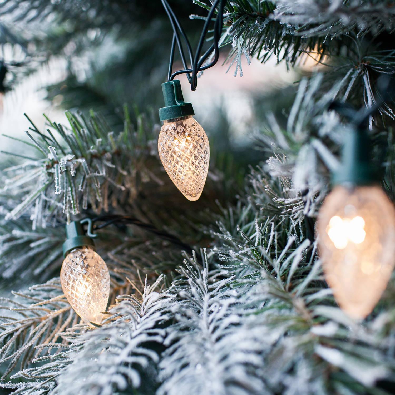 Tannenzapfen Weihnachtsbaumbeleuchtung