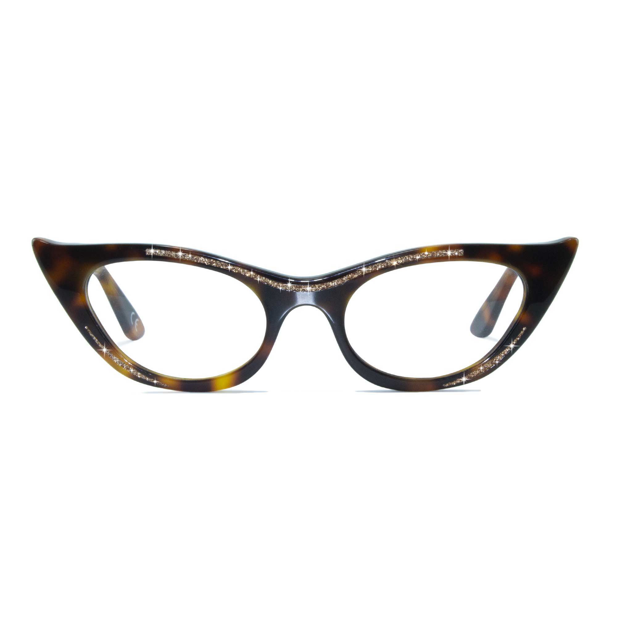 Joiuss lana tortoiseshell cat eye glasses