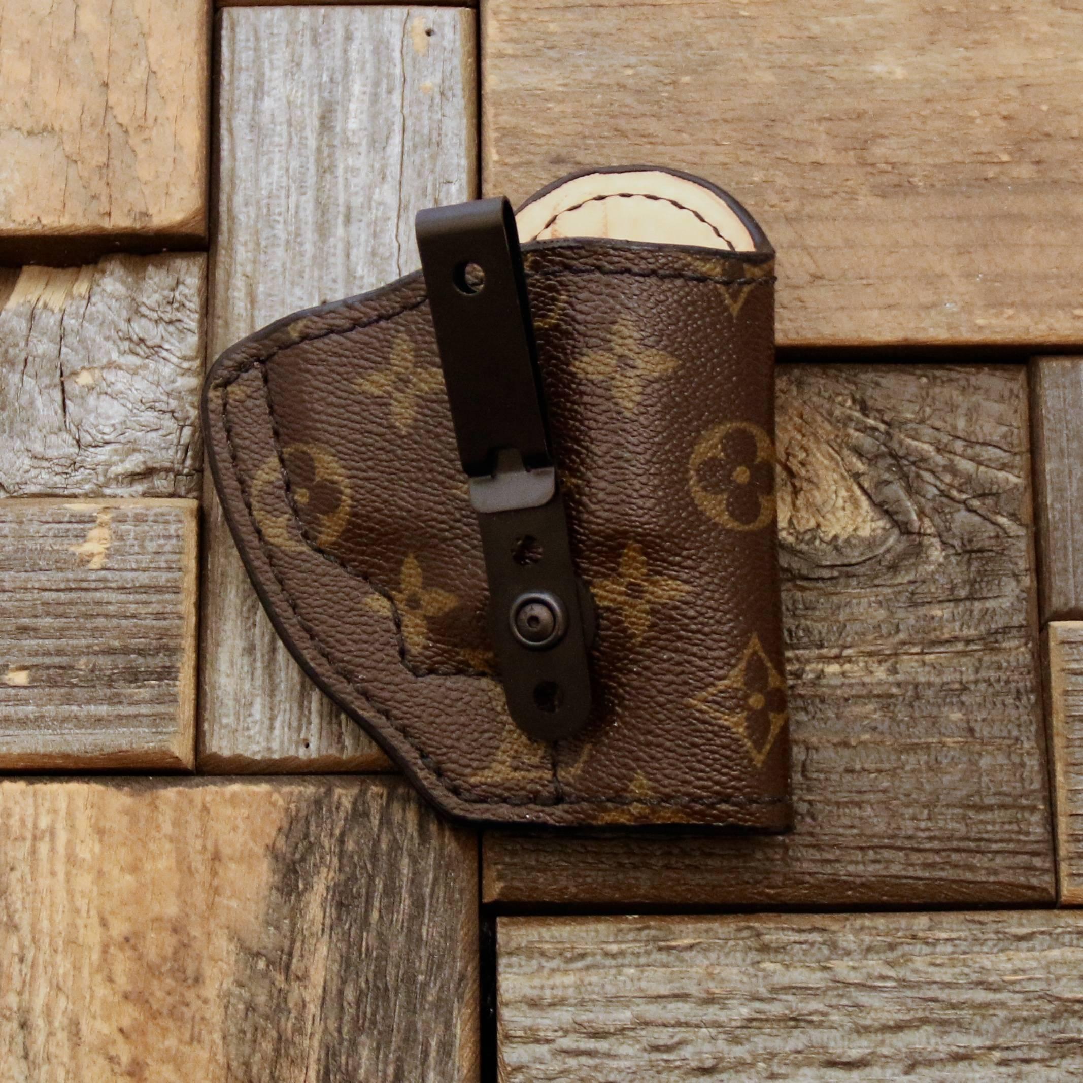 custom Louis Vuitton holster for revolver
