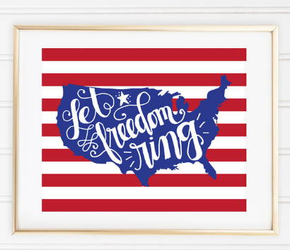 let freedom ring 4th of july quote downloadable