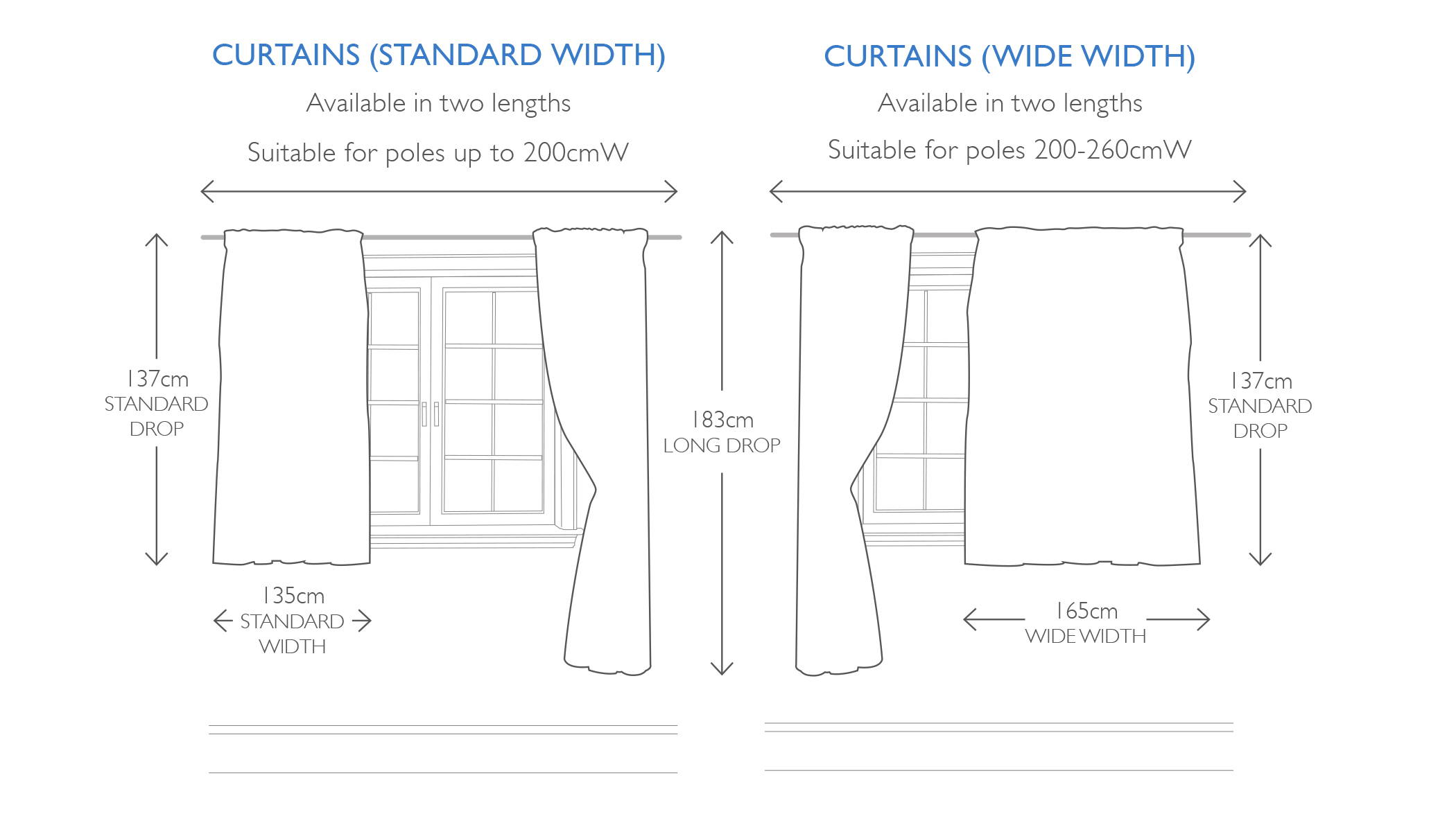 How To Measure Kids Curtains Buying Guide Great Little Trading Co