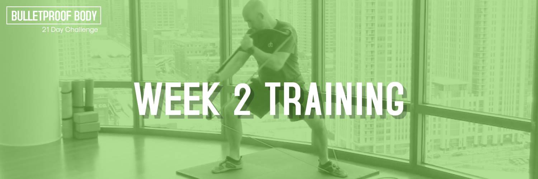 Week 2 training