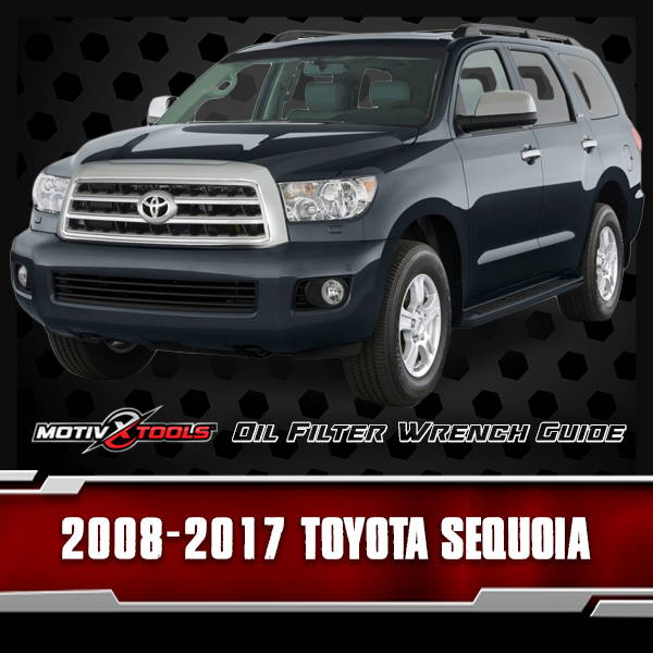 2008 - 2017 Toyota Sequoia Oil Filter Wrench Guide