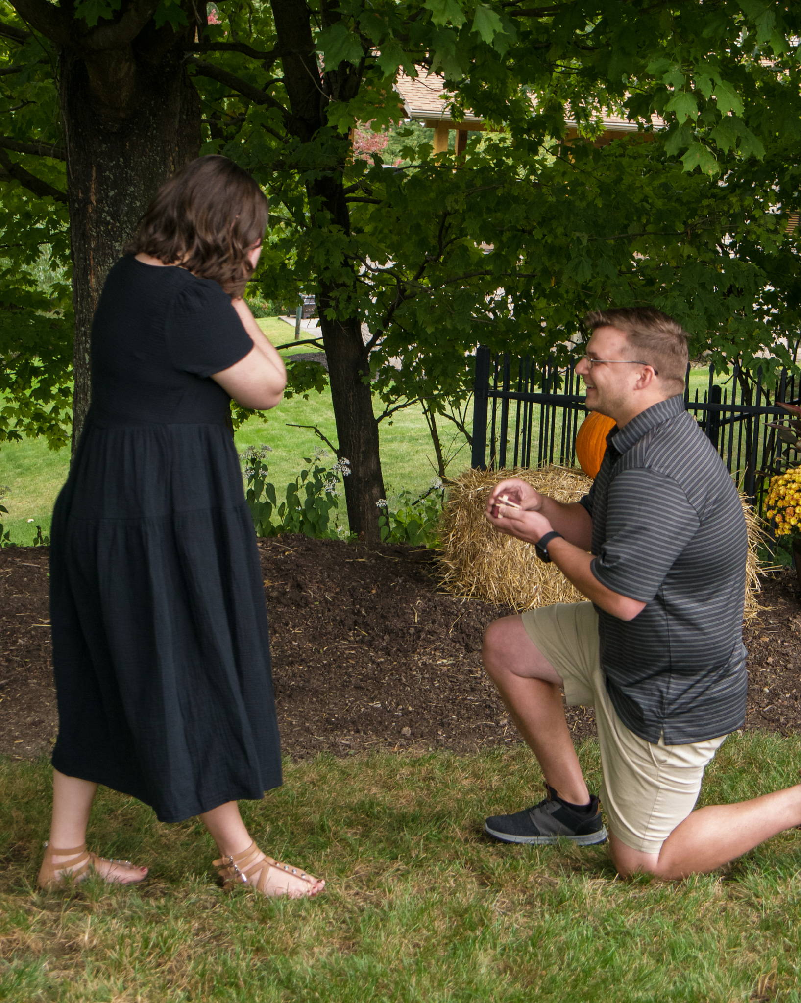 Eric Proposes to Colleen with a Custom Engagement Ring from Henne Jewelers