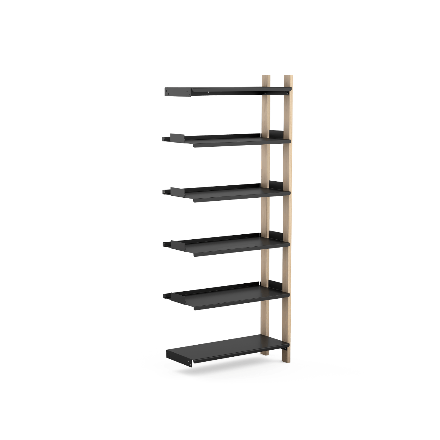Tall Floyd Shelving System expansion unit rendering