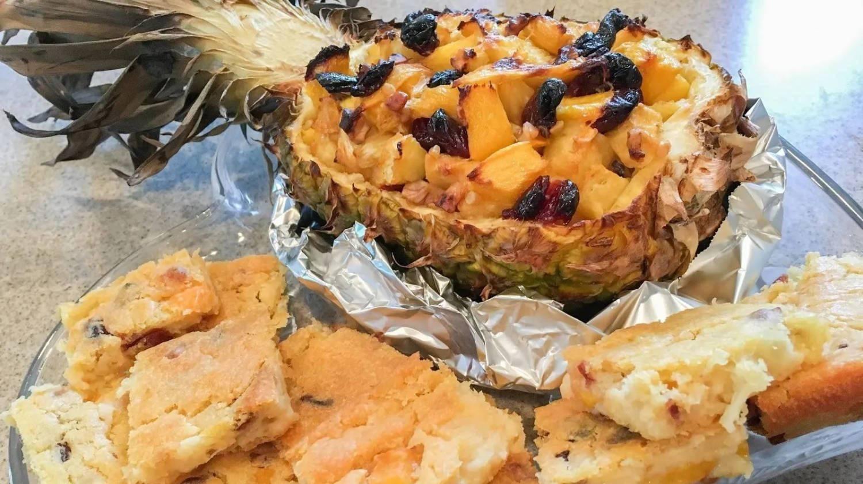 Featured | Roasted Pineapple Mango Cake | Roasted Pineapple Mango Cake