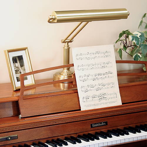 House of Troy Inspiration Piano Lamp lifestyle P15-80-51
