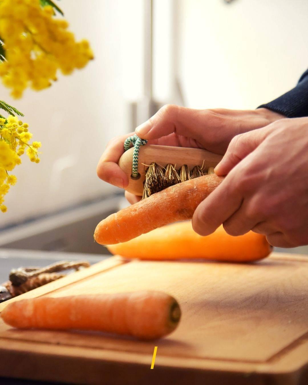 Brosse à légumes écologique
