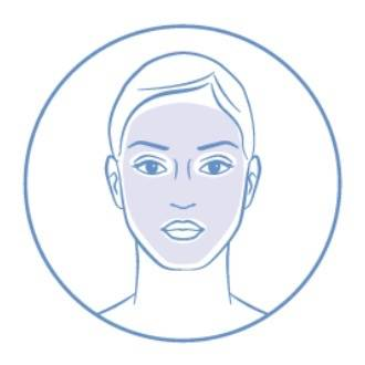Image of someone with dry skin