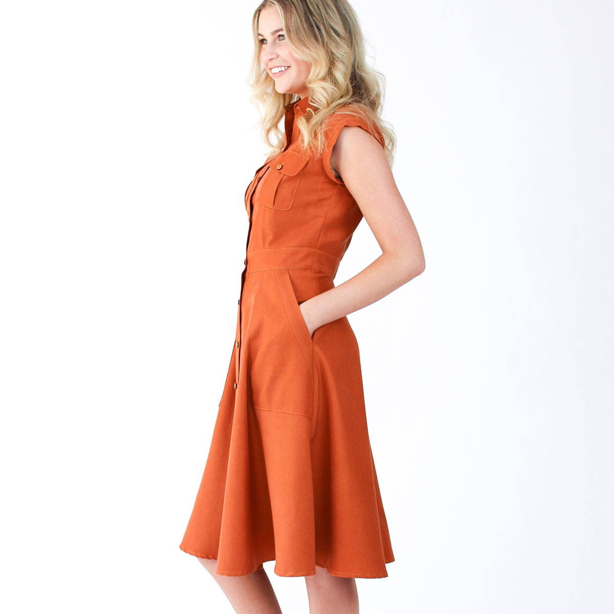 Matilda - Sew Sleeve Bands & Skirt