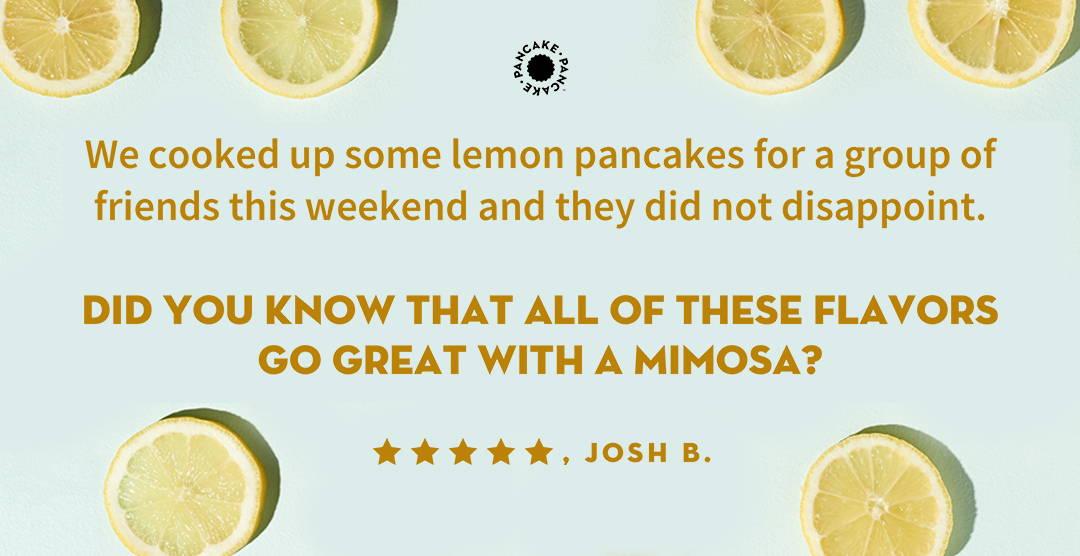 testimonials from pancake pancake customers