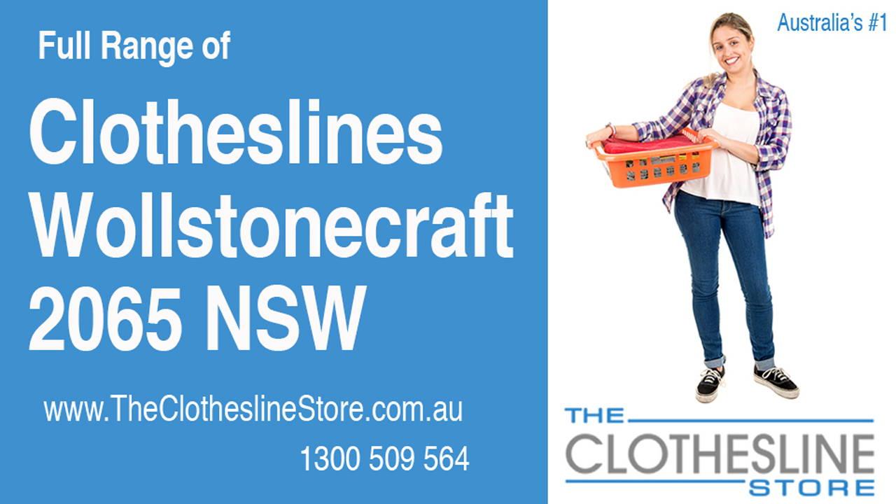 Clotheslines Wollstonecraft 2065 NSW