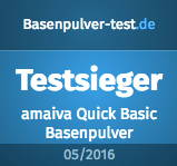 Qualitätssiegel von Basenpulver-test.de
