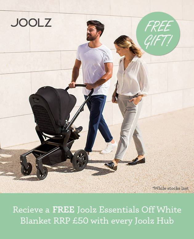 Free Blanket RRP £50 with every Joolz Hub