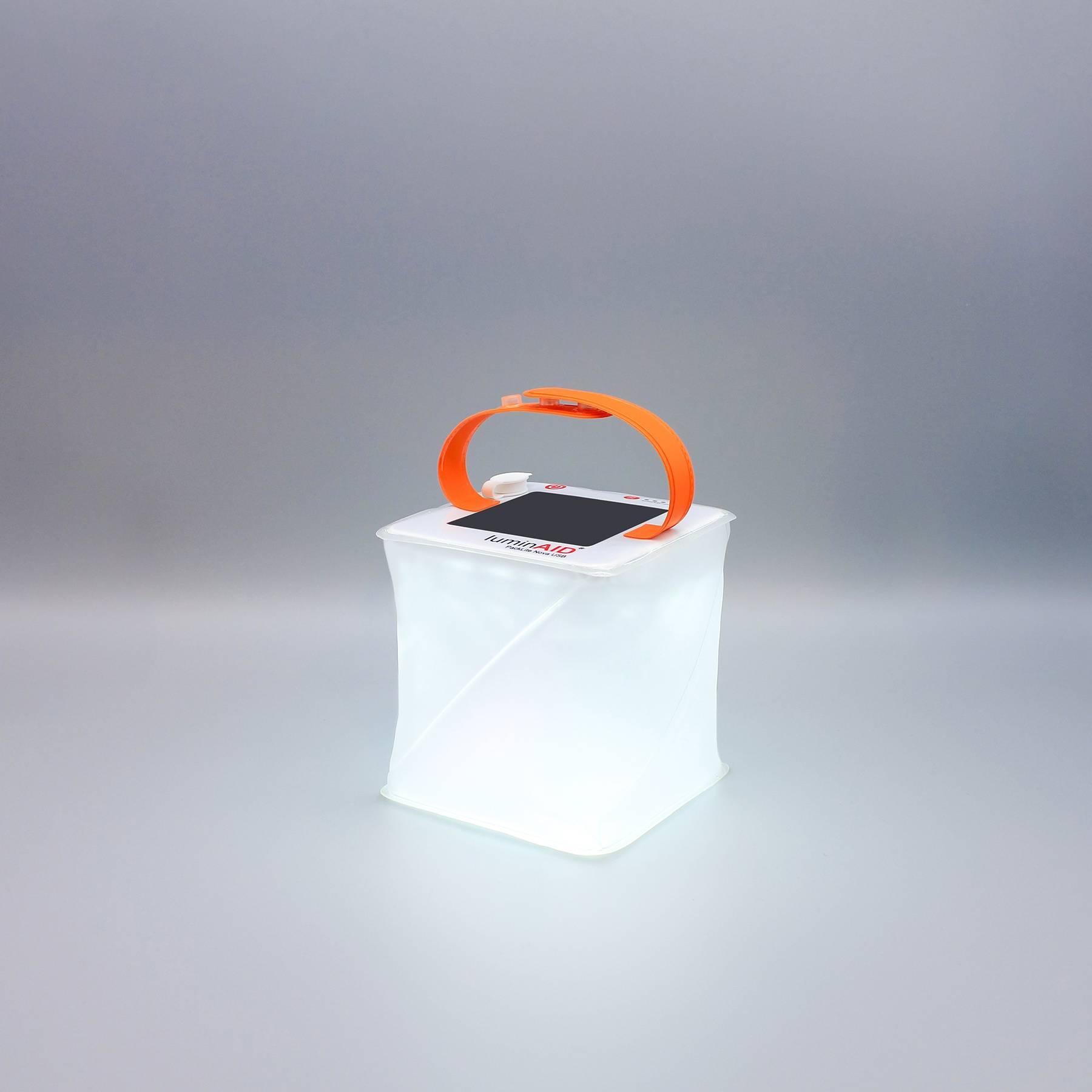 Nova USB solar lantern.