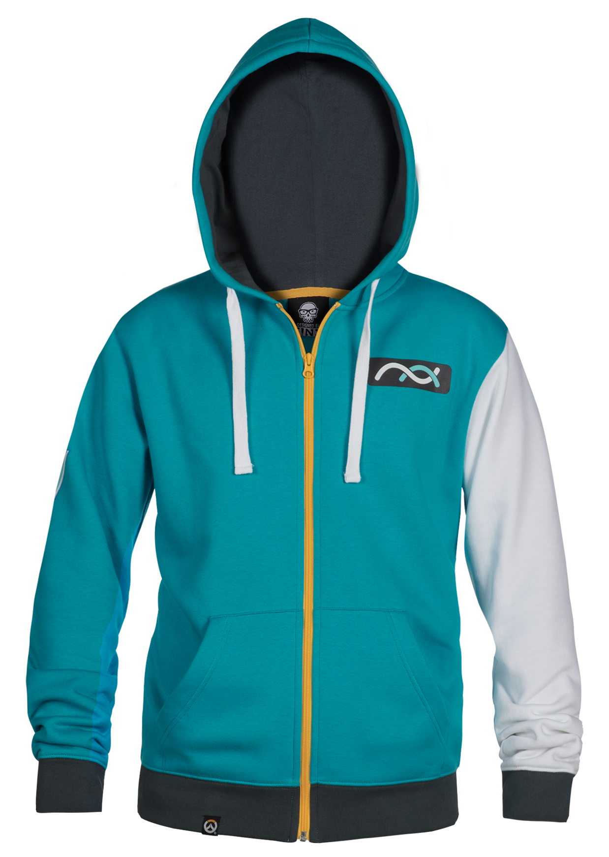 Product image of the Overwatch Ultimate Symmetra Zip-Up Hoodie