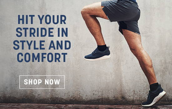 Hit Your Stride in Style And Comfort