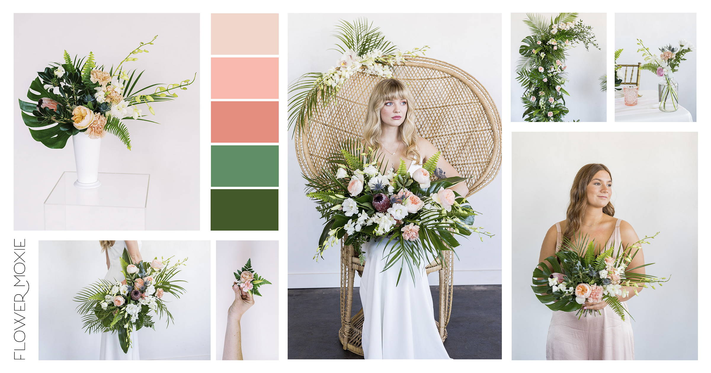 tropical wedding ideas and inspiration