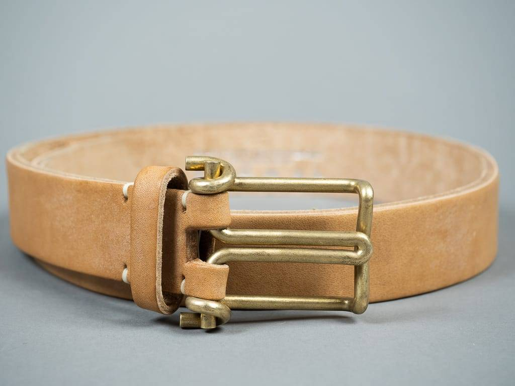 tender co leather belt wire buckle