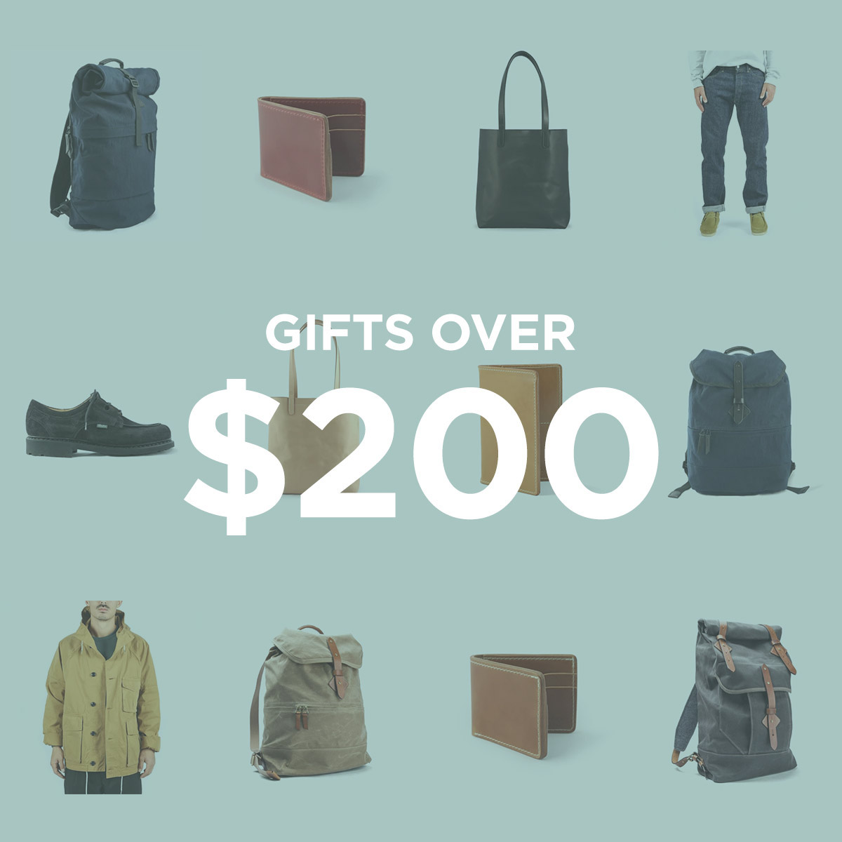 Gifts over $200