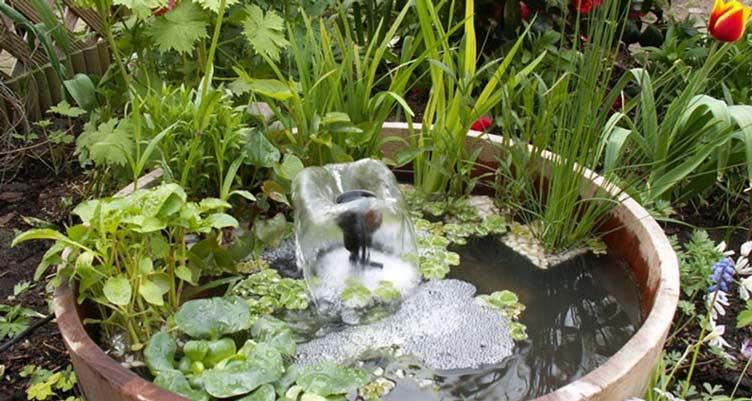Facile et ingenieux mini bassin